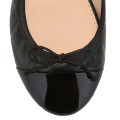 House of ballerinas Ines Black toecap