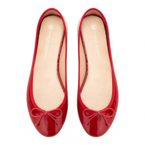 House of ballerinas Charlotte Red top