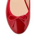 House of ballerinas Charlotte Red toecap