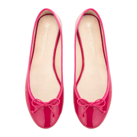 House of Ballerinas Charlotte Fuchsia