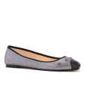 House of Ballerinas Maxine silver side